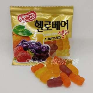 🚚 現貨 韓國 Jellico 小熊 綜合水果軟糖 軟糖 單小包