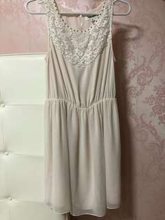 Ever New blush pink lace dress