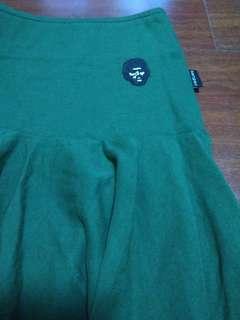 🚚 📣黑人頭短裙-墨綠