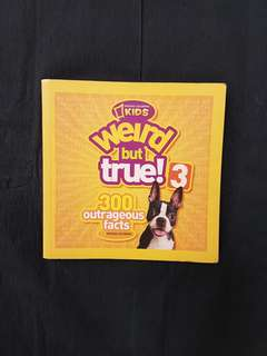 National Geographic Kids: Weird but True 3 Book