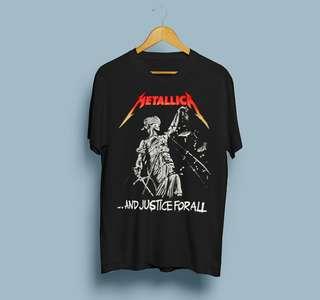 Metallica Tshirt Build Up