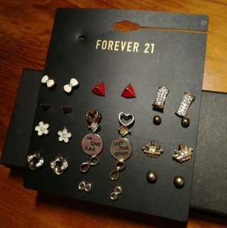 🆕 F21, Lovisa, H&M earrings (GOLD) #Letgo4Raya