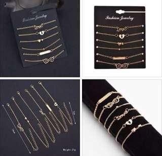 6in1 bracelet/anklet