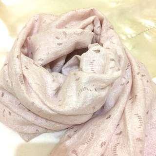 Pashmina Lace Soft Pink