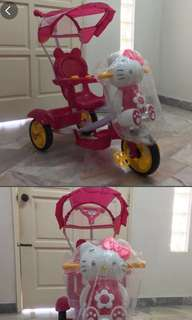 Hello Kitty Stroller