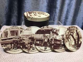 Vintage Coca-Cola Coaster set 杯墊