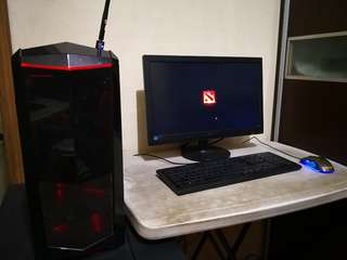 gaming desktop complete set gtx 1060