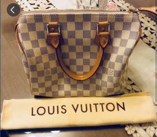 [REDUCED] Louis Vuitton Azur Speedy 25