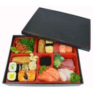Japanese Bento Box with 5 Compartments
