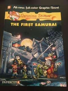 Geronimo Stilton The First Samurai