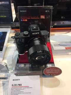Kredit Sony A7 mark II kit 16-50mm tanpa Cc