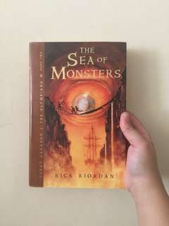 Percy Jackson and the Sea of Monsters (Hardbound)