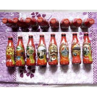 08年可口可樂中國八景紀念樽一套