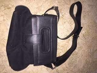 Lacoste premium black bag