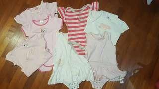 Gap, Mothercare bodysuit bundle for girls