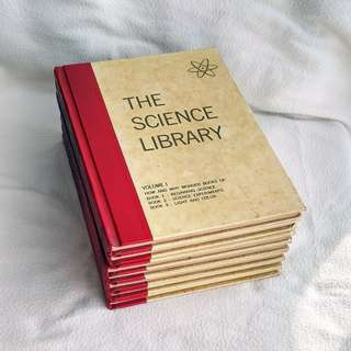 Lot Sale: 7 Volumes 1970 The Science Library Hardcover Books  -  Grosset & Dunlap
