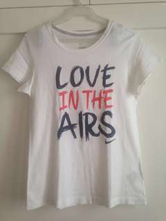 "Authentic Nike ""Love in the Airs"" Tee"