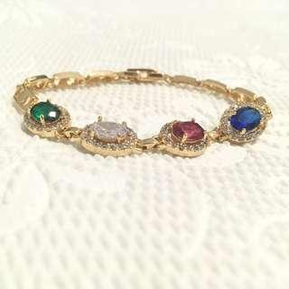 Gold bracelet no. 8