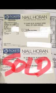 Niall Horan Patron Ticket!