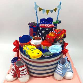 Large Baby Diapers cake