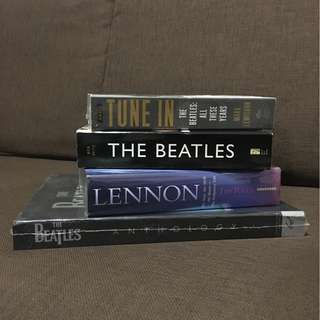 Beatles Books (Tune In, The Beatles, Lennon, Beatles Anthology)