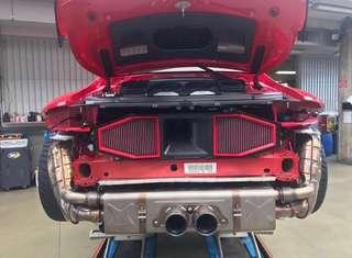 Porsche 991 GT3 RS 高流量空氣芯