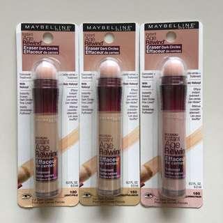 Maybelline Instant Age Rewind Eraser Dark Circles Treatment Concealer Light