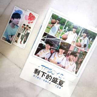 Tfboys Polaroid + free two bookmark