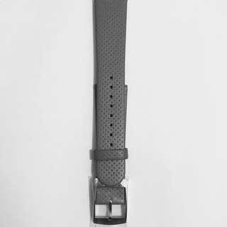 [全新] 真皮小牛皮歐洲錶帶 超薄平紋波點超軟 20mm