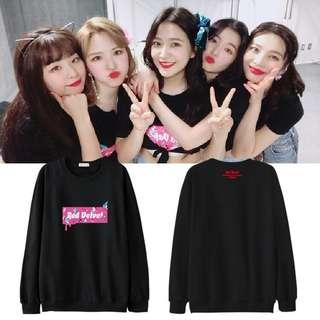 Red Velvet Sweater
