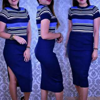 Knitted Top and Skirt TERNO