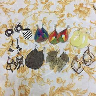 10 set Earrings