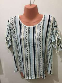 Lightweight with sleeves blouse
