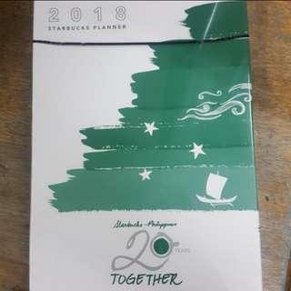 Starbucks 2018 Planner (Large Orange Tan)