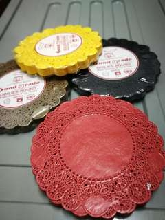 "8"" paper doilies in various colors (1 pack - 250pcs)"