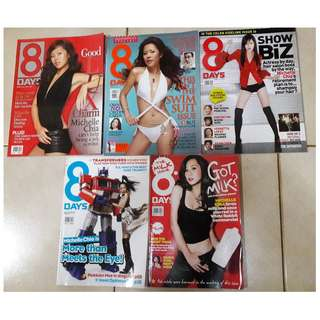8 Days magazines  - Michelle Chia  issues