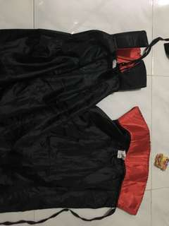 Vampire cape for kids 2pcs