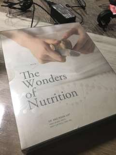 GREAT DOORSTOPPER AND PAPERWEIGHT - The wonders of nutrition
