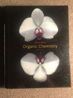 Organic Chemistry by John McMurry 8th Edition
