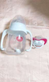 Baby Sippy Cup + pacifier