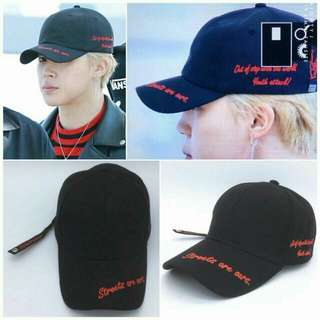 "[PREORDER] BTS Jimin ""Streets Are Ours"" Cap"