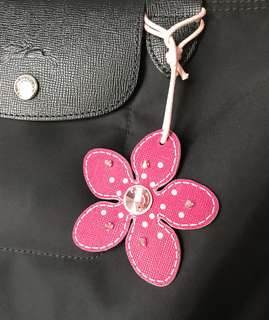 Blossom bag charm