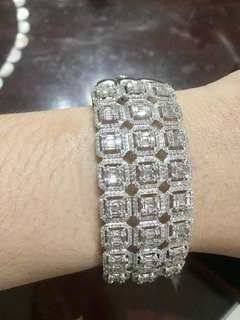 Diamond bangle for sale