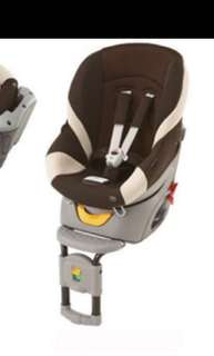 Ailebebe KURUTTO Premium 360  degree rotating seat - Brown / Beige  car seat, booster safely