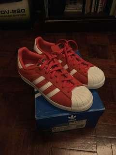Adidas Superstar Suede (Red)