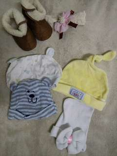 Baby bonnets bundles