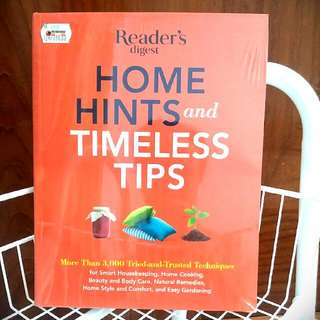 New❕Home Hints & Timeless Tips By Reader's Digest