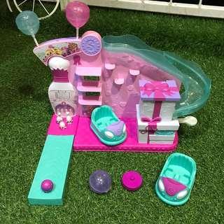 Shopkins Bowling Alley Bumper Car Playset