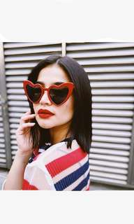 YSL INSPIRED HEART SHAPED SUNNIES