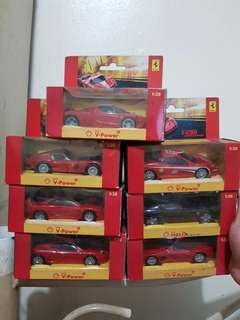 Shell 2008 Ferrari collection complete